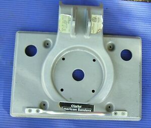 Floor Sander Clarke Obs 18 Sander Part 25907a1 Mainframe Base Square Buff