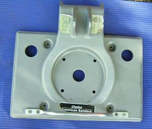 Floor sander Clarke OBS-18 sander part 25907A1 Mainframe base Square Buff