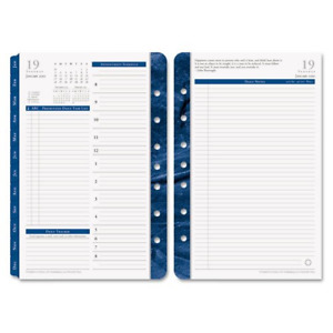 Franklin Covey Daily Planner Refill Monticello 2 Ppd 5 1 2 X 8 1 2 Inches