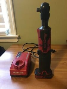 Snap On Ctr761b 3 8 Microlithium Cordless Ratchet With Battery And Charger