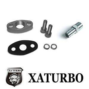 Turbo Oil Return Drain Flange Garrett Gt25 Gt28 Gt30 Gt35 W Fitting Adaptor