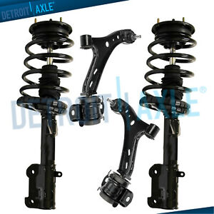 2005 2008 2009 2010 Ford Mustang Front Struts Coil Spring Lower Control Arms
