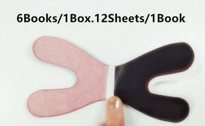 10box Dental Articulating Paper Red blue Clear Impression Horse Shoe Type Thick