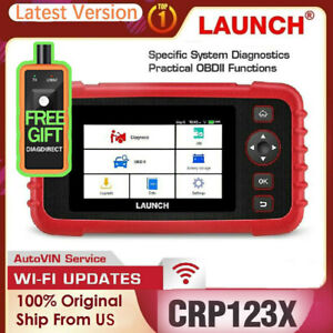 Launch X431 Crp123x Car Obd2 Diagnostic Tool Scanner Engine Transmission Abs Srs