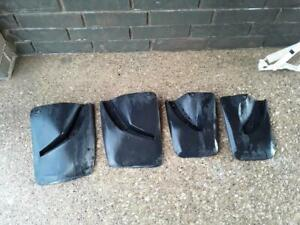 Volvo 740 760 940 960 Mud Flap Set Rare