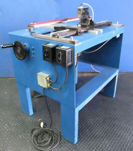 Heavy Duty Industrial Double Spindle Inverted Router Machine Baldor 110v Motor