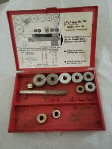 Cal Van Tools Tools No 744 Bushing Driver Set As Is