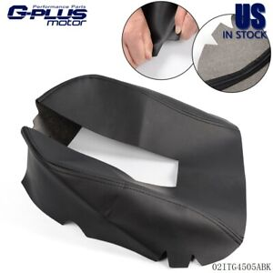 Center Console Armrest Leather Synthetic Cover For Chevy Tahoe Suburban 07 13