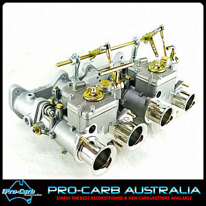 Twin 40 Dcoe Fajs Weber Toyota Celica 2tg Twin Cam 1600 Carburetor Package