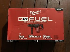 Milwaukee 2717 20 M18 Fuel 1 9 16 Sds Max Hammer Drill tool Only Brand New