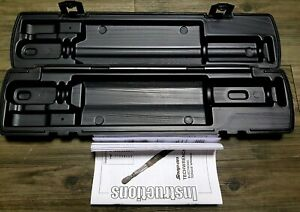 Snap On Case Only Tech1r240 1 4 Flex Head Digital Torque Wrench 1 20 Ft Lb