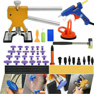 Auto Body Paintless Dent Removal Repair Tool Puller Lifter Car Dent Repair Kits