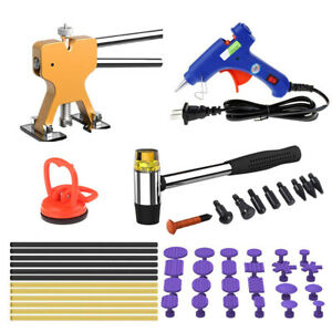 Paintless Dent Removal Puller Lifter Dent Repair Kit Hail Damage Removal Tool