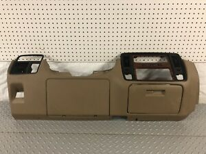 94 96 Chevy Caprice Impala Ss Tan Lower Steering Dash Dashboard Panel Bezel
