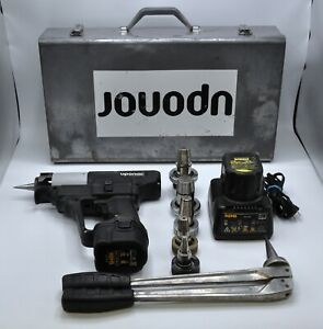 Uponor Rems Propex Wirsbro Ex press 575 Hydraulic Expander Hand Tool W 5 Heads
