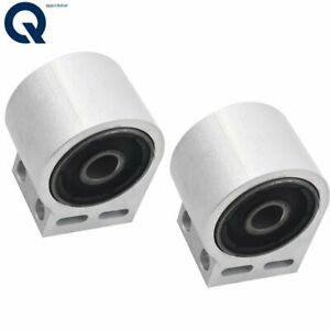 Front Lower Rearward Control Arm Bushing Pair 2pc For Equinox Torrent Vue Xl 7