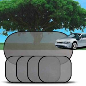 5x Car Side Rear Window Screen Sun Shade Mesh Cover Windshield Sunshade Visor Us