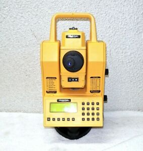 Geotronics Spectra physics Geodimeter Total Station With Key Pad Cables