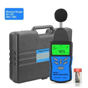 Digital Sound Level Meter 30 130db Decibel Noise Measurement Hand Noise Tester