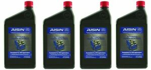 Set Of 4 Automatic Transmission Fluids Aisin For Chrysler Dodge Hyundai Jeep Kia