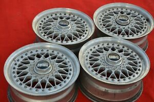 Bbs Rs033 15 Alloy Wheels 6 5j Et34 4x100 Bmw E30 Golf Vw Civic Eg6 Ef9