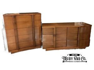 Mid Century Modern Kent Coffey Dresser And Chest The Linwood