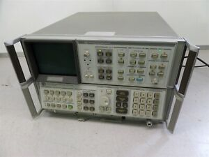 Hp 8568b Spectrum Analyzer 100 Hz 1 5 Ghz 85662a Spectrum Analyzer Display
