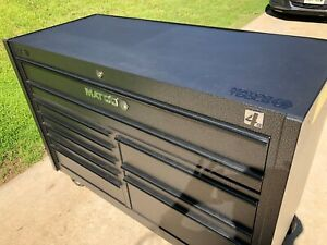Matco 4s Double Bay 25 Toolbox Like New Matco 4225rp Ss With Power Drawer