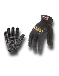 Ironclad Box Handler Silicon Fused Palm High Grip Safety Work Gloves S