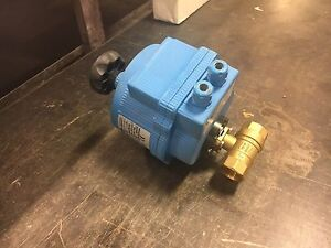 E115v b2s 8tls2 Uci Electric Actuated 1 Brass Ball Valve 115vac