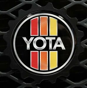 Grille Badge Emblem Compatible With Toyota Tacoma Fits Tundra Pt 5435c