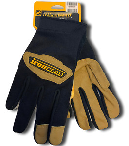 Ironclad Gloves Rwc2 Cowboy General Leather Work Gloves Select Size