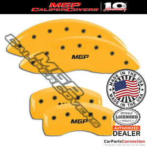 Mgp Caliper Brake Cover Yellow 10247smgpyl Front Rear For Ford Edge 2019