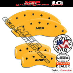 Mgp Caliper Brake Cover Yellow 22132smgpyl Front Rear For Bmw 323i 2007 2008