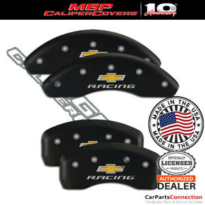 Mgp Caliper Brake Cover Matte Black 14239sbrcmb Front Rear For Chevy Cruze 17 18