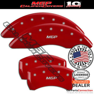 Mgp Caliper Brake Cover Red 22224smgprd Front Rear For Bmw 550i Gt 2015 2015