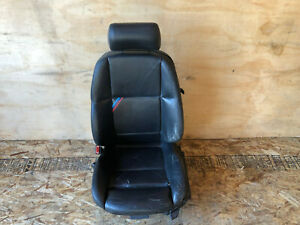 Bmw E36 M3 S52 Oem Convertible Front Driver Left Side Manual Leather Chair Seat