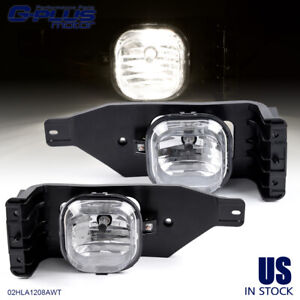For 05 07 F 250 F 350 Super Duty 05 Excursion Driving Fog Lights Bumper Lamps 2