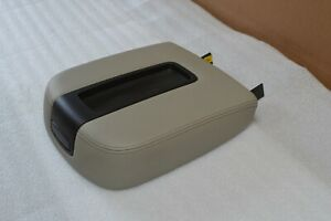 07 14 Grey Gm Gmc Chevrolet Suv Trucks Center Console Lid Cover Top new oem
