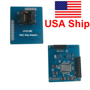 Usa Shipping Vvdi Mb Nec K ey Adaptor Support Multi versions