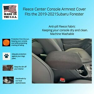 Auto Console Cover Center Armrest Cover Custom Fit Fleece Sfrfl