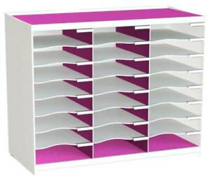 21 57 In Master Literature Organizer In White And Pink id 3544181
