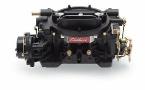 Edelbrock 14063 Performer Series Black 600 Cfm Electric Choke Carburetor