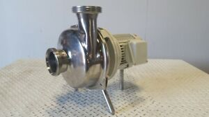 Seitz werke Sanitary Pump 4 Ports Model Sb 2 316ss 2 Hp Motor 3 Ph