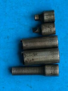 Vintage 5pc Snap On Carburator Adjusting Sockets Usa