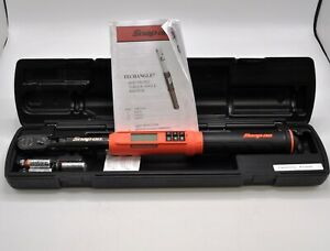 Snap On Tools Atech2f100vo 3 8 Flex Head Techangle Digital Torque Wrench Orange