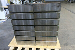 18 H 36 W Unknown Heavy Duty Angle Plates T slotted 36 h X 18 w X 24 d