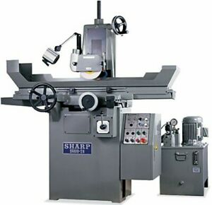 6 W 18 L Sharp Sg 618 2a Surface Grinder 2 Axis Hydraulic