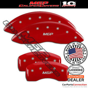 Mgp Caliper Brake Cover Red 36024smgprd Front Rear For Lincoln Continental 18 19
