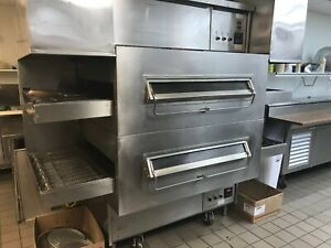 Middleby Marshall Ps360s Pacesetter Gas Double Conveyor Oven Refurbished